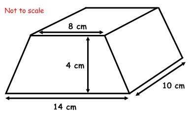 how to work out the area of a shape